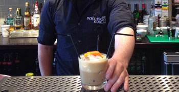 Irish Whiskey Museum, Venue Hire, Iced Whiskey Coffee Cocktail