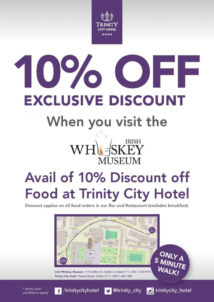 Trinity City Hotel, Irish Whiskey Museum