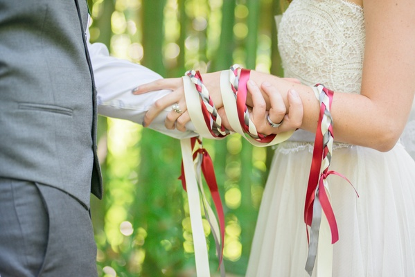 hand fastening, Romantic Irish traditions