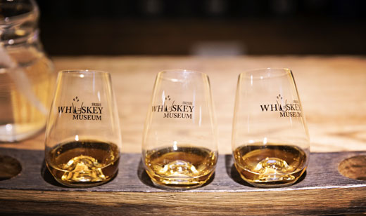 Irish whiskey museum whiskey tasting