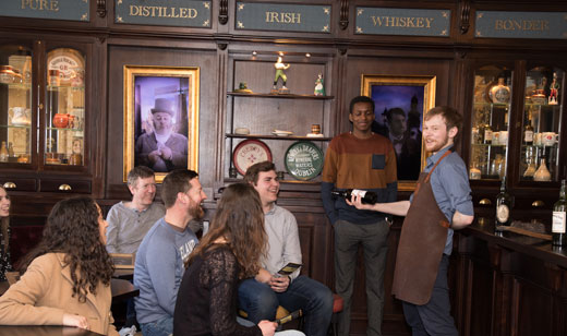 Irish Whiskey Museum tours