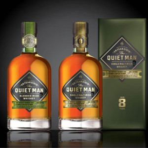 Irish whiskey The Quiet Man
