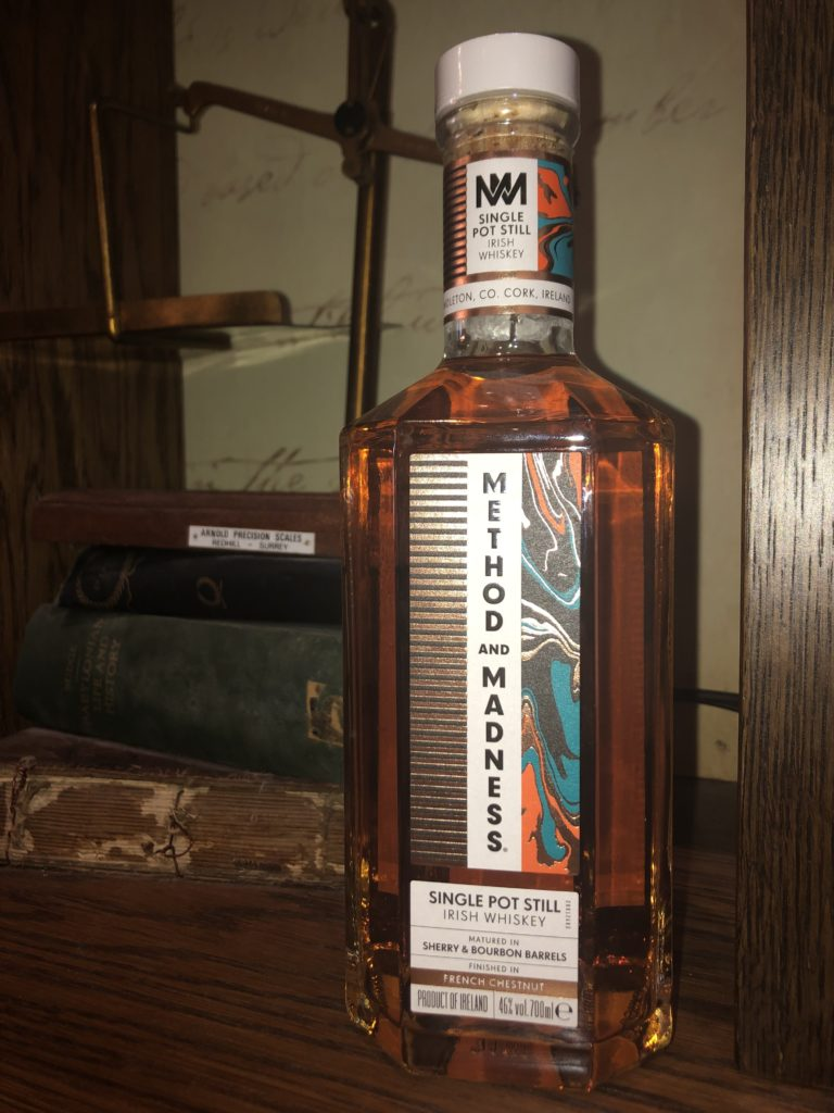 Method and Madness Irish whiskey