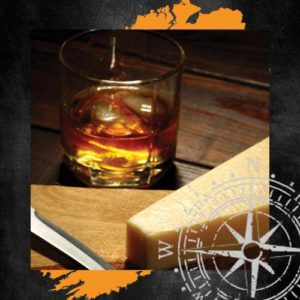 Four Corners of Ireland Whiskey and Cheese Pairing Evening