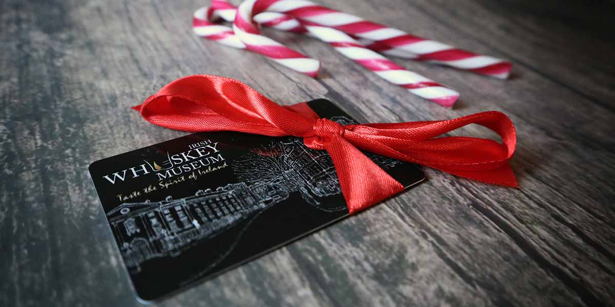 Irish Whiskey Museum Gift Card