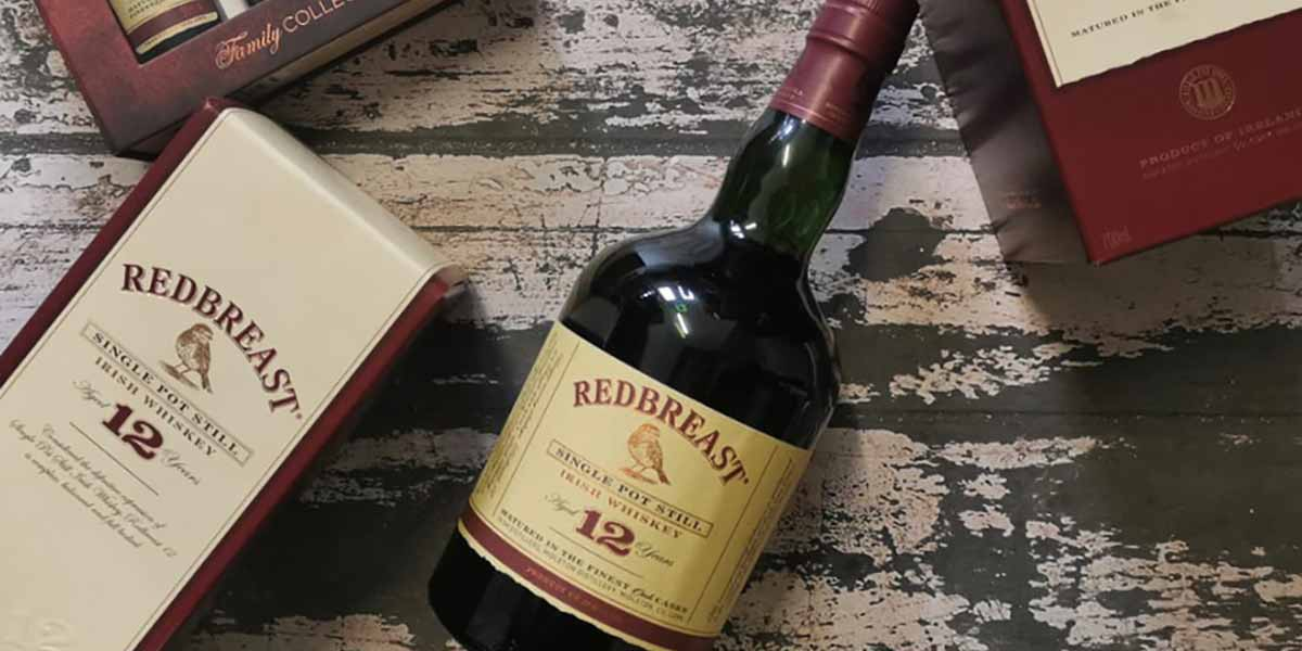 Redbreast 12 Year Old Pot Still Whiskey